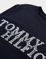 Tommy Hilfiger Woven Logo Sweatshirt