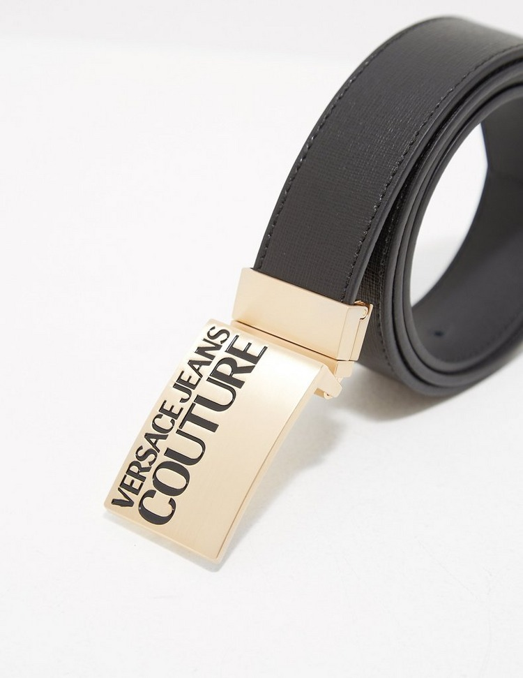 Versace Jeans Couture Metal Plaque Belt