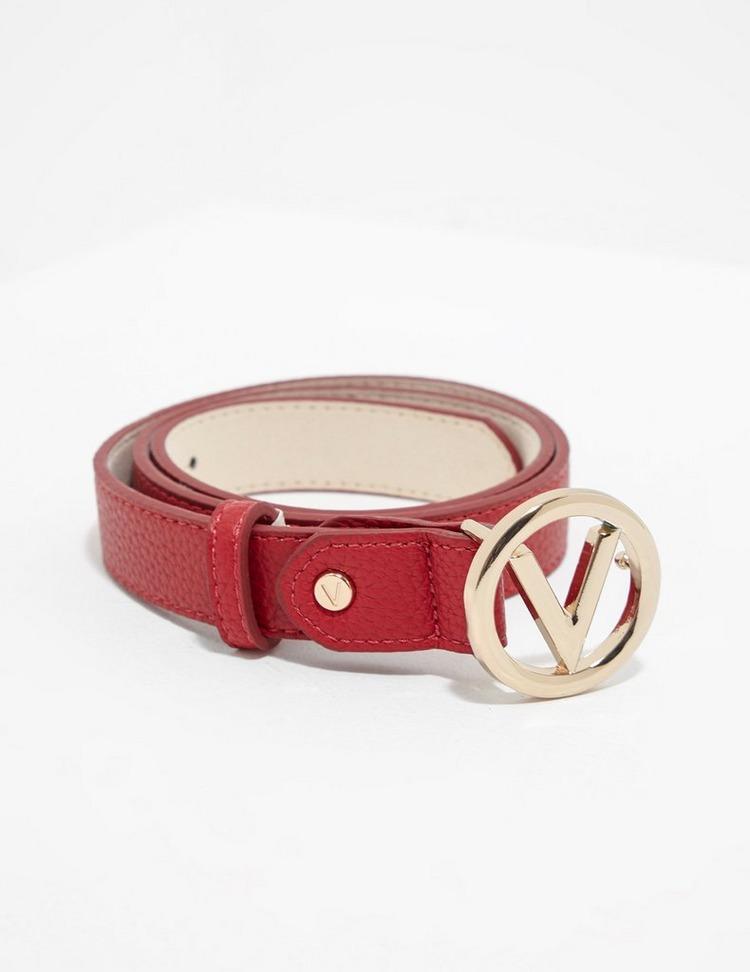 Valentino by Mario Valentino Round Buckle Belt