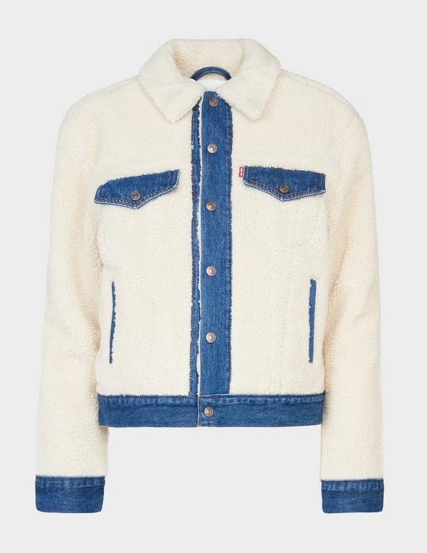 Levis Sheep Trucker Denim Jacket