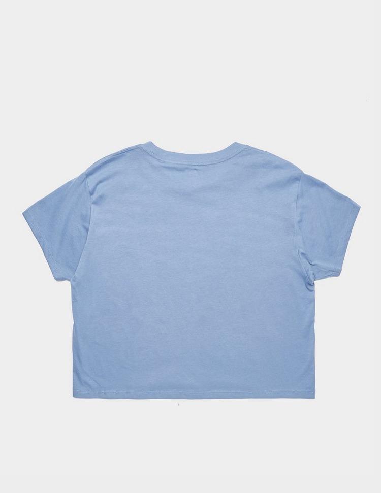 Levis Serif Logo Short Sleeve Crop T-Shirt