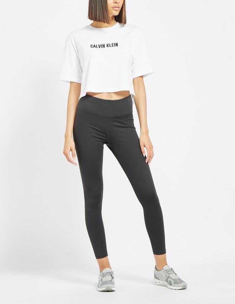 Calvin Klein Performance Essential Crop Logo T-Shirt