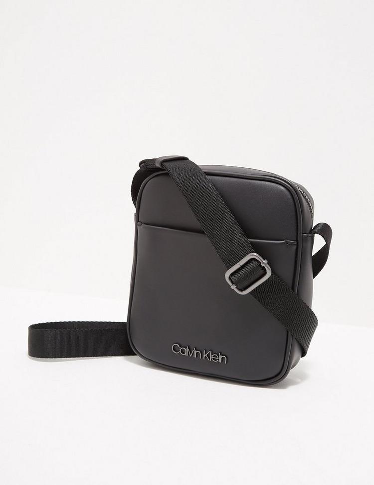 Calvin Klein Metal Logo Cross Body Bag