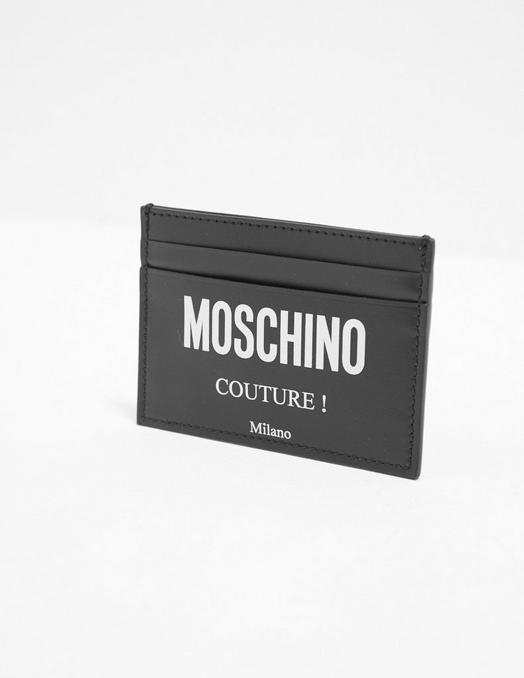 Moschino Logo Card Holder