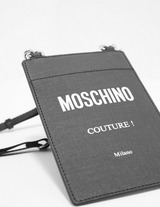 Moschino Logo Neck Pouch