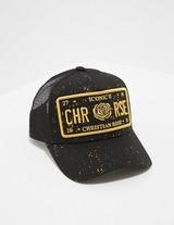 Christian Rose Icon Splatter Cap