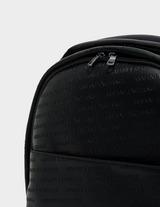 Armani Exchange All Over Embossed Logo Bag