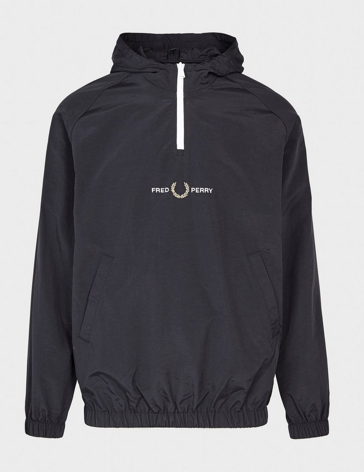 Fred Perry Embroidered Logo Overhead Jacket - Exclusive
