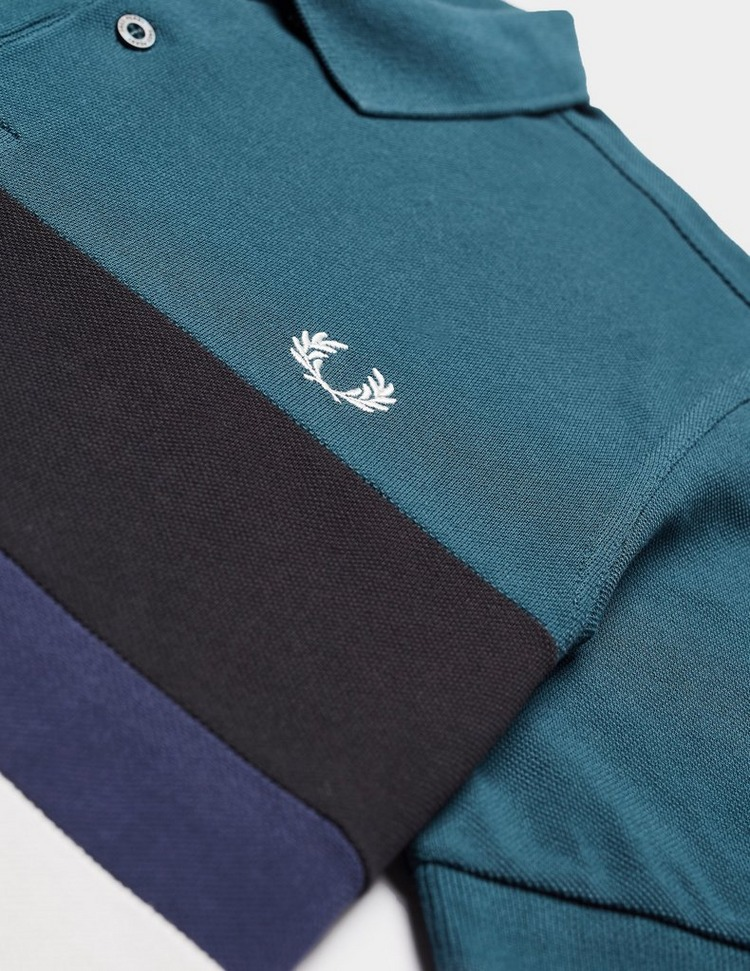 Fred Perry Colour Block Short Sleeve Polo Shirt