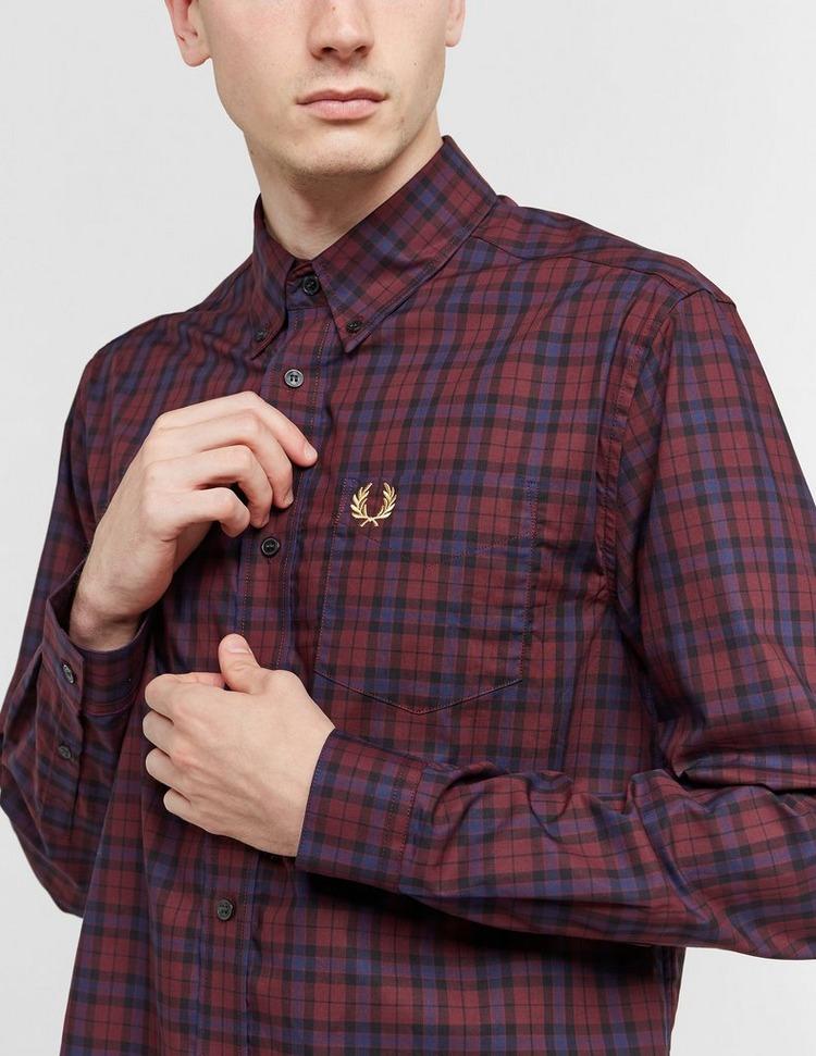 Fred Perry Winter Tartan Long Sleeve Shirt