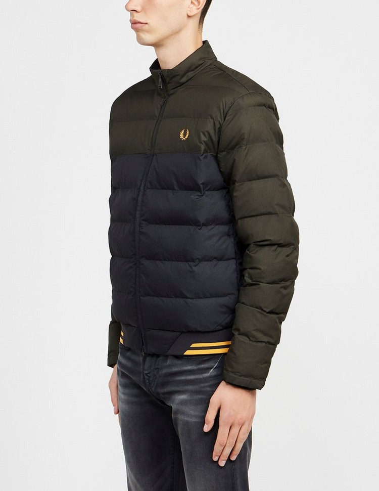 Fred Perry Colour Block Insulated Jacket
