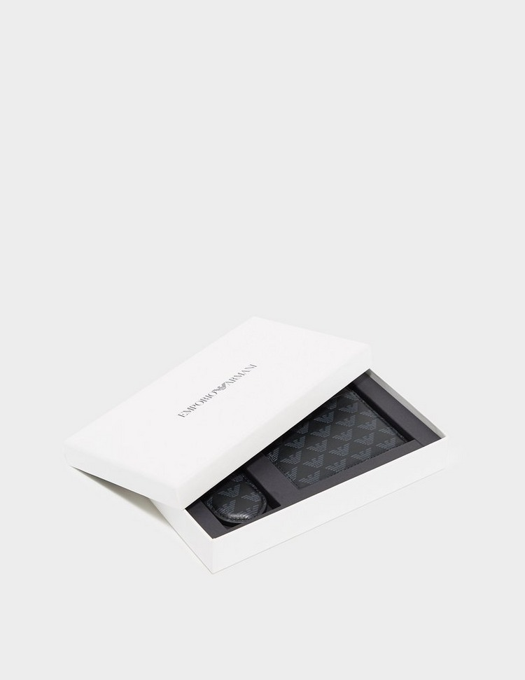 Emporio Armani Wallet and Key Chain Gift Set