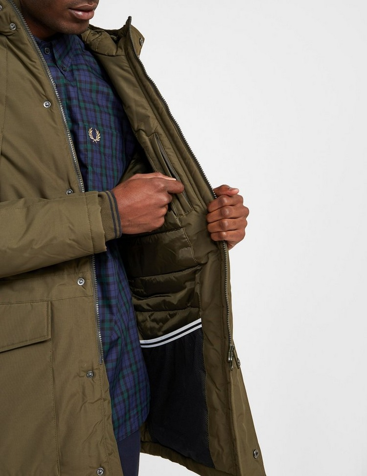 Fred Perry Padded Parka Jacket