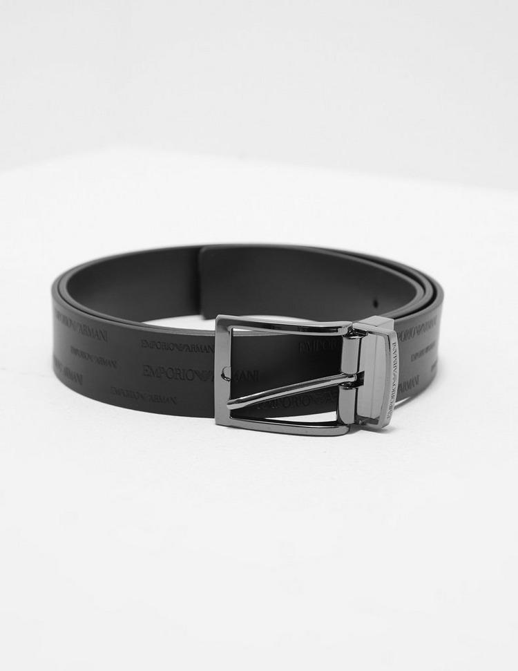 Emporio Armani Repeat Logo Reversible Belt