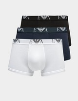 Emporio Armani Loungewear 3 Pack Boxer Shorts