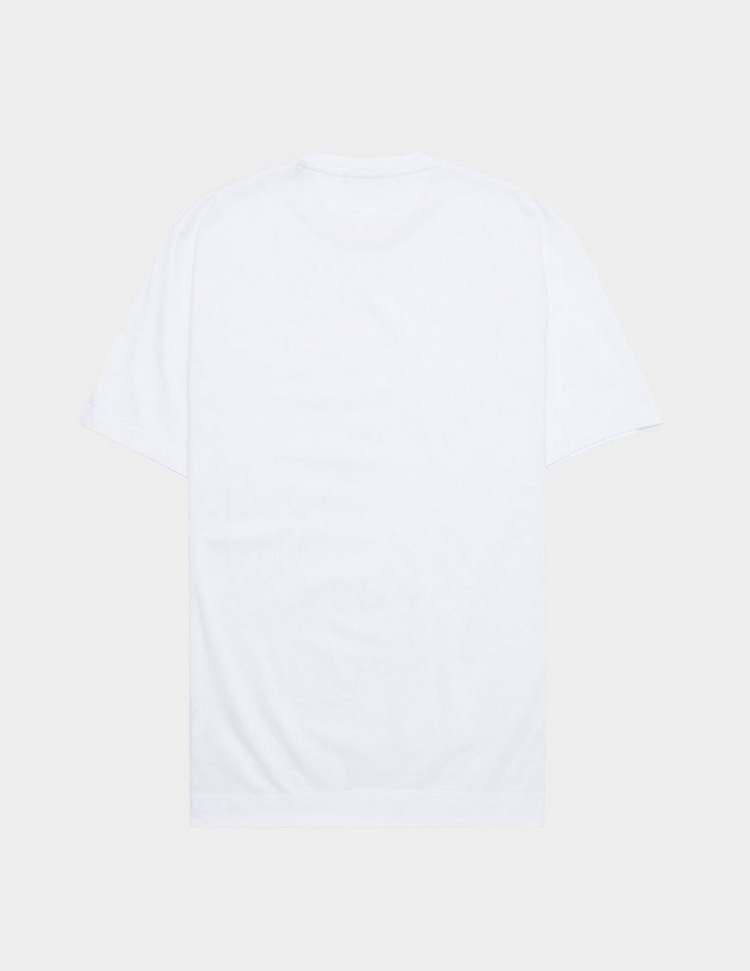 Z Zegna Small Block Logo Short Sleeve T-Shirt
