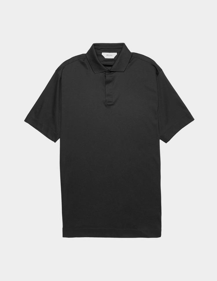 Z Zegna Mercerised Short Sleeve Polo Shirt