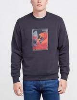 Z Zegna Floral Print Sweatshirt