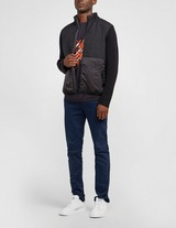 Z Zegna Mixed Fabric Knit Sweatshirt