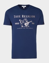 True Religion Front Buddha Short Sleeve T-Shirt