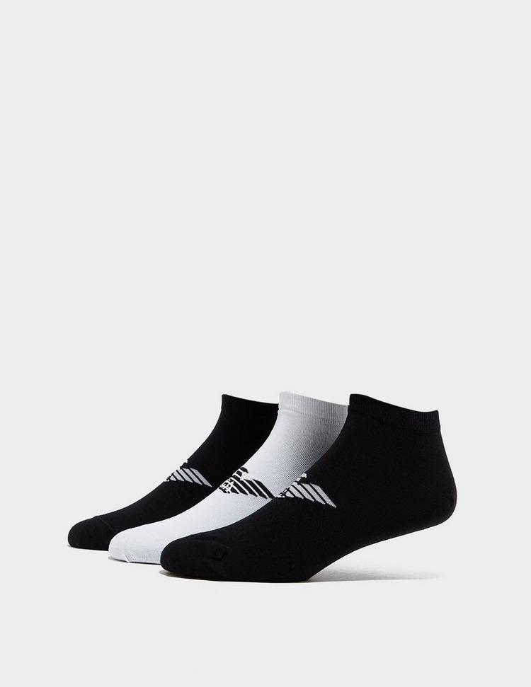 Emporio Armani Loungewear 3 Pack Eagle Training Socks