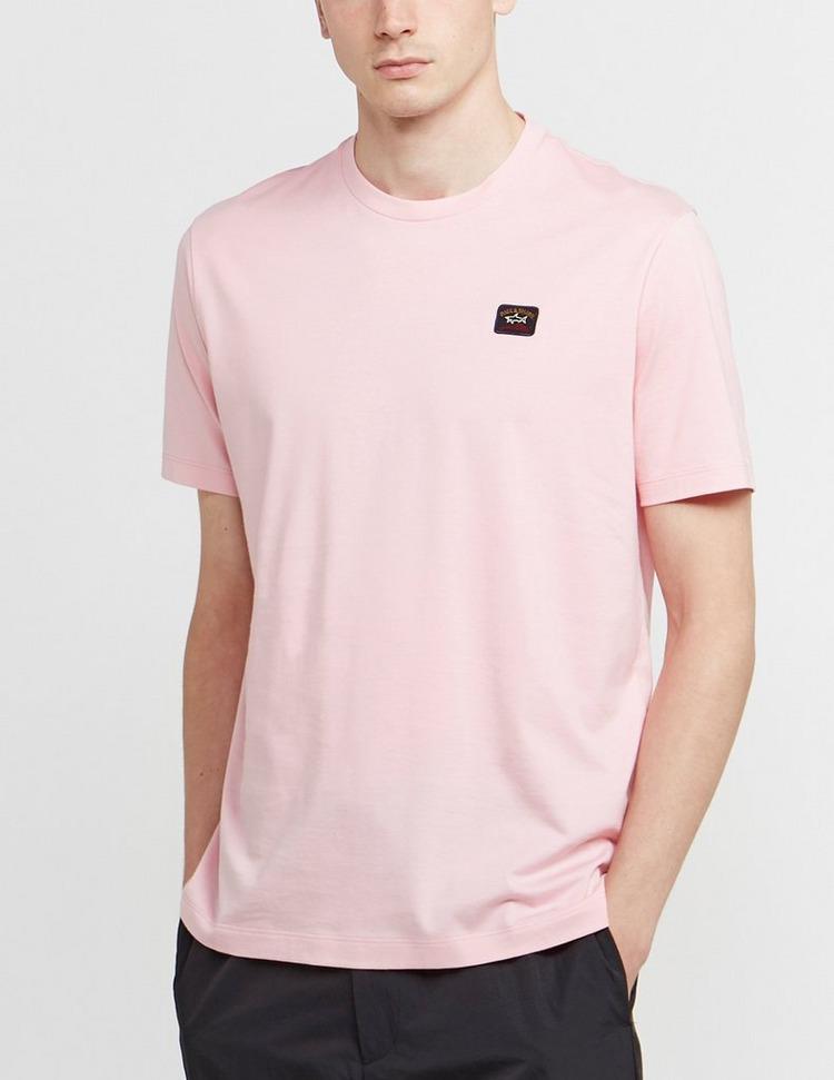 Paul and Shark Badge Crew Short Sleeve T-Shirt