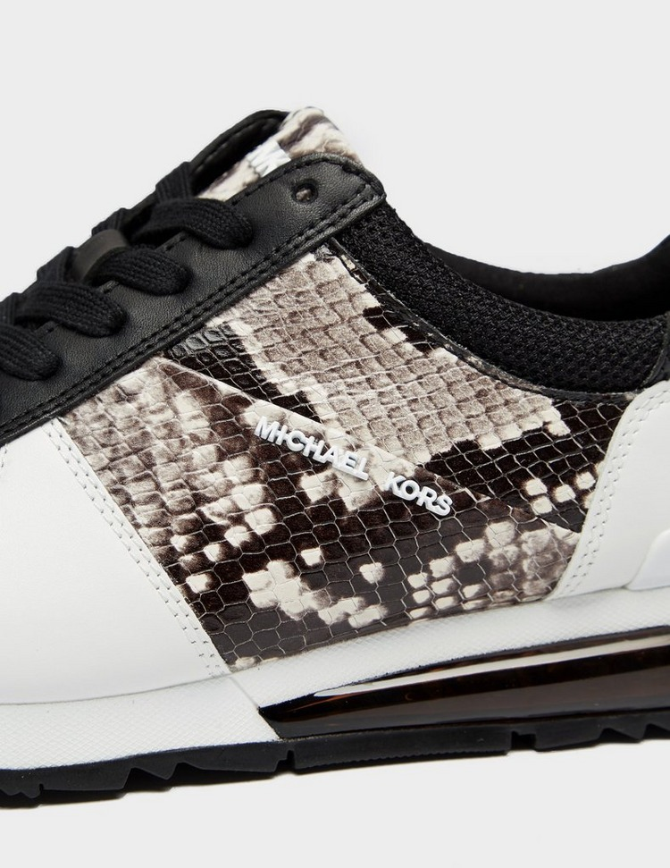 Michael Kors Allie Extreme Python Trainers