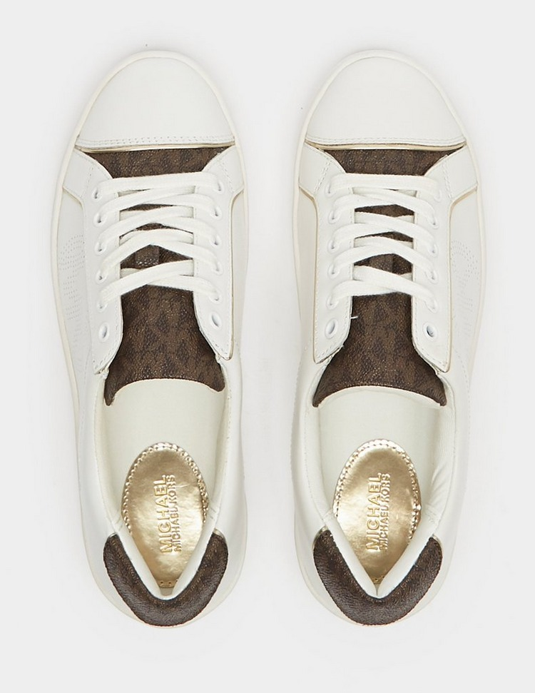 Michael Kors Kirby Embossed Trainers
