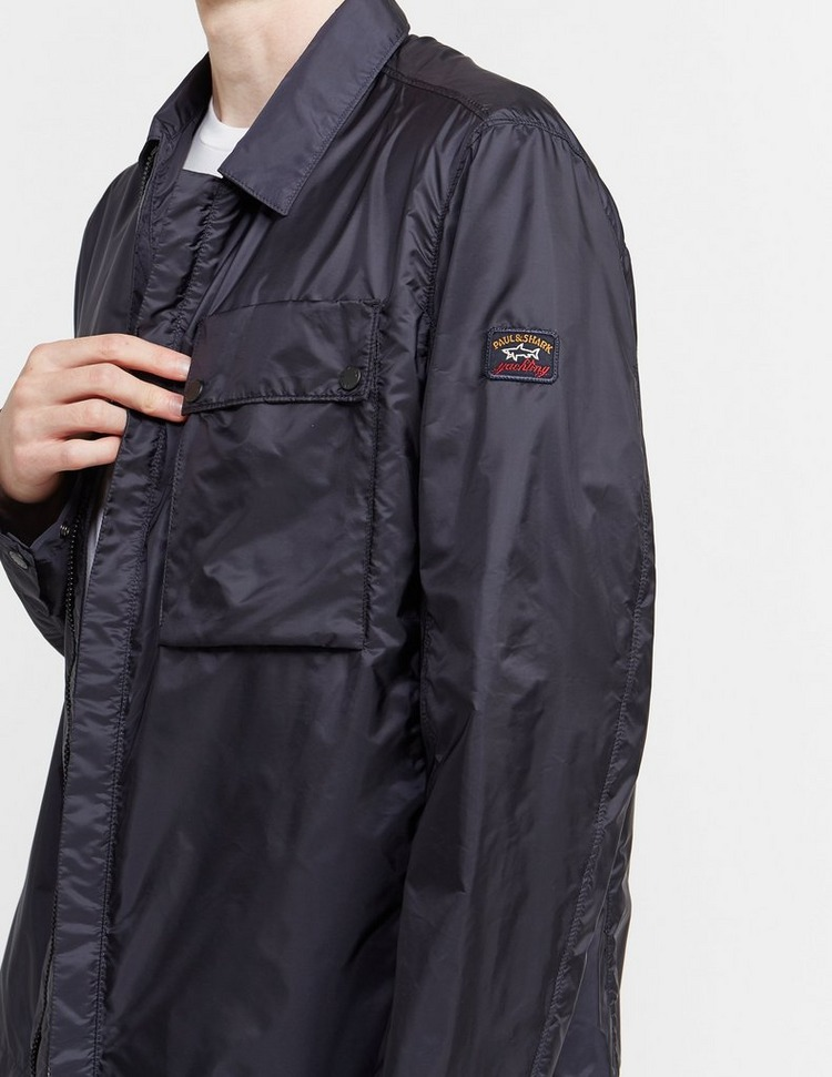 Paul and Shark Woven Pocket Overshirt