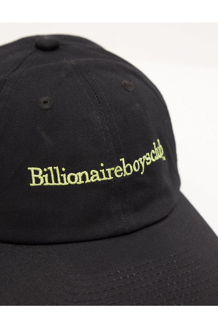 Billionaire Boys Club Embroidered Text Cap