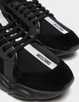 Moschino Logo Tape Trainers