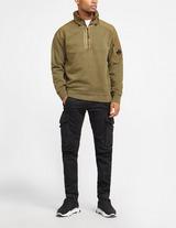 C.P. Company Half Zip Panel Sweatshirt