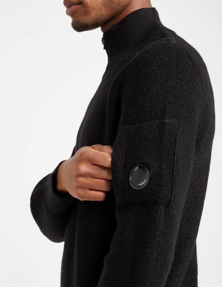 CP Company Lens Half Zip Knitted Sweatshirt