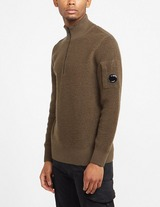 C.P. Company Lens Half Zip Knitted Sweatshirt
