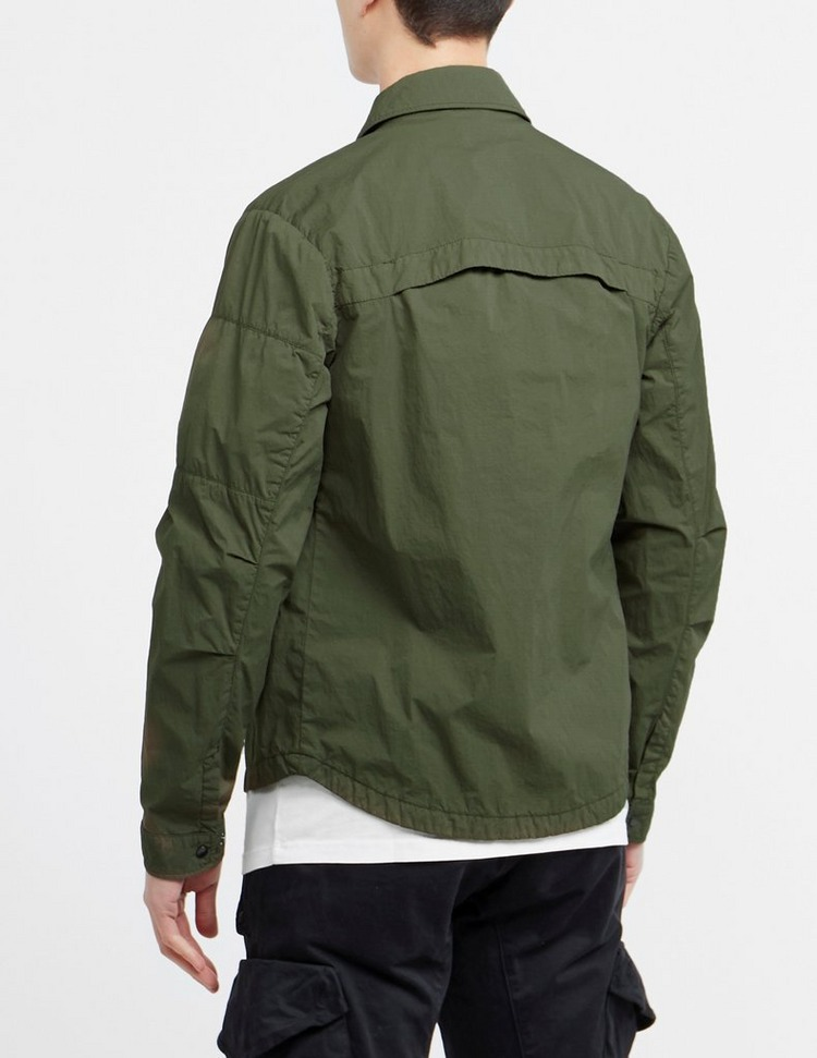 C.P. Company Garment Dyed Micro Reps Overshirt