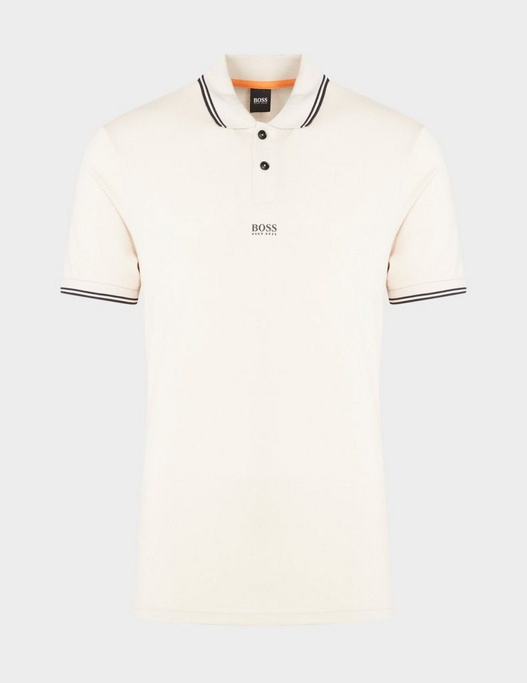 BOSS Pchup Tipped Short Sleeve Polo Shirt