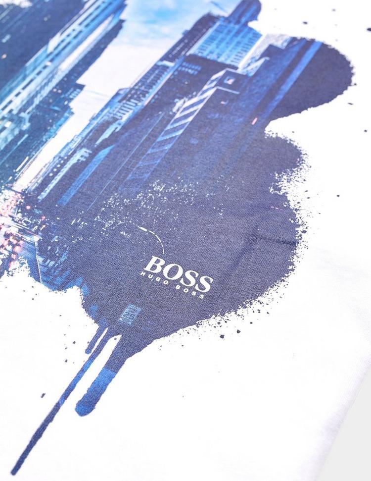BOSS Tomio City Graphic Short Sleeve T-Shirt