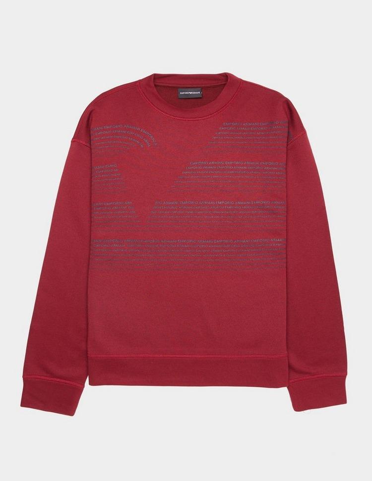 Emporio Armani Text Eagle Sweatshirt