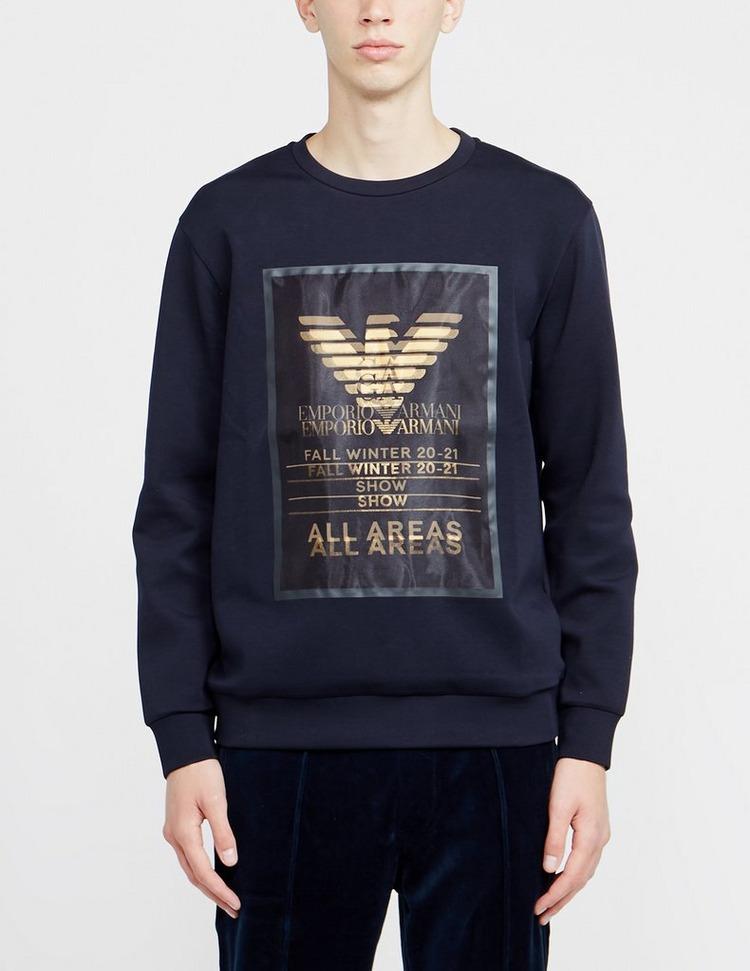 Emporio Armani All Areas Crew Sweatshirt