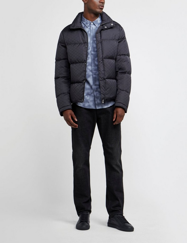 Emporio Armani All Over Eagle Down Padded Jacket