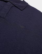 Emporio Armani Knit Long Sleeve Polo Shirt