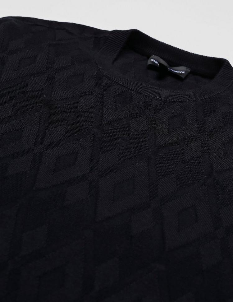 Emporio Armani Diamond Intarsia Knit