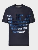Emporio Armani Large Cloud Eagle T-Shirt