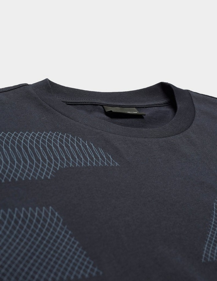 Emporio Armani Large Graphic Short Sleeve T-Shirt