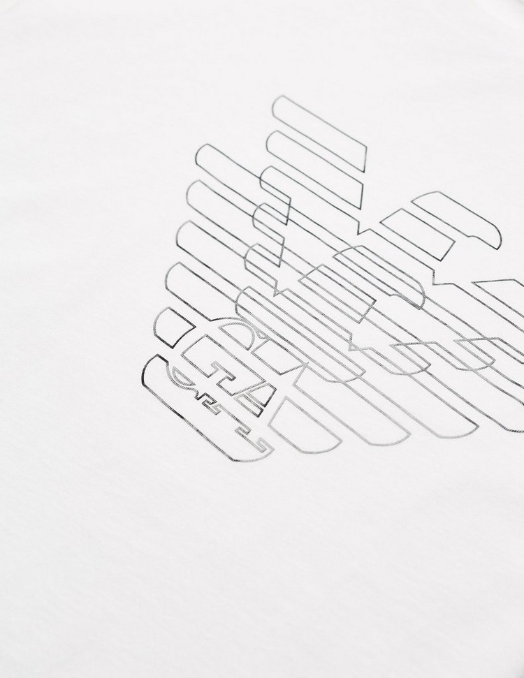 Emporio Armani Double Gloss Eagle Short Sleeve T-Shirt