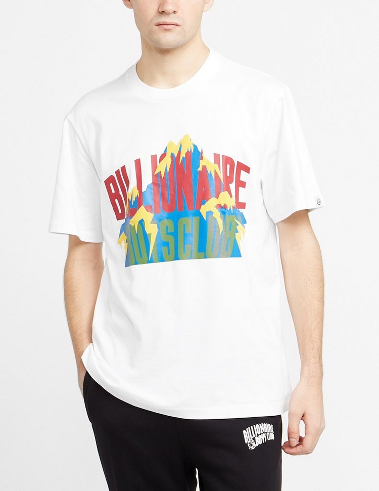 Billionaire Boys Club Mountain Print Short Sleeve T-Shirt