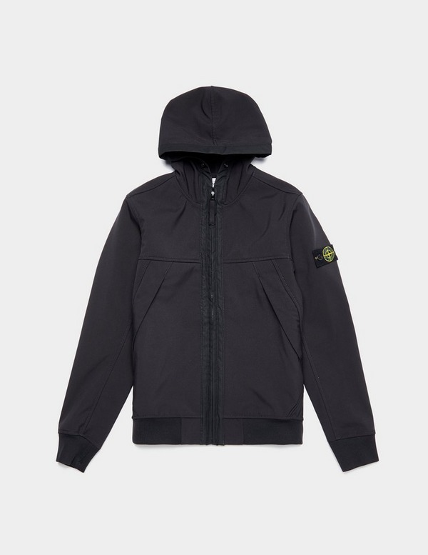Stone Island Junior Softshell Hooded Jacket