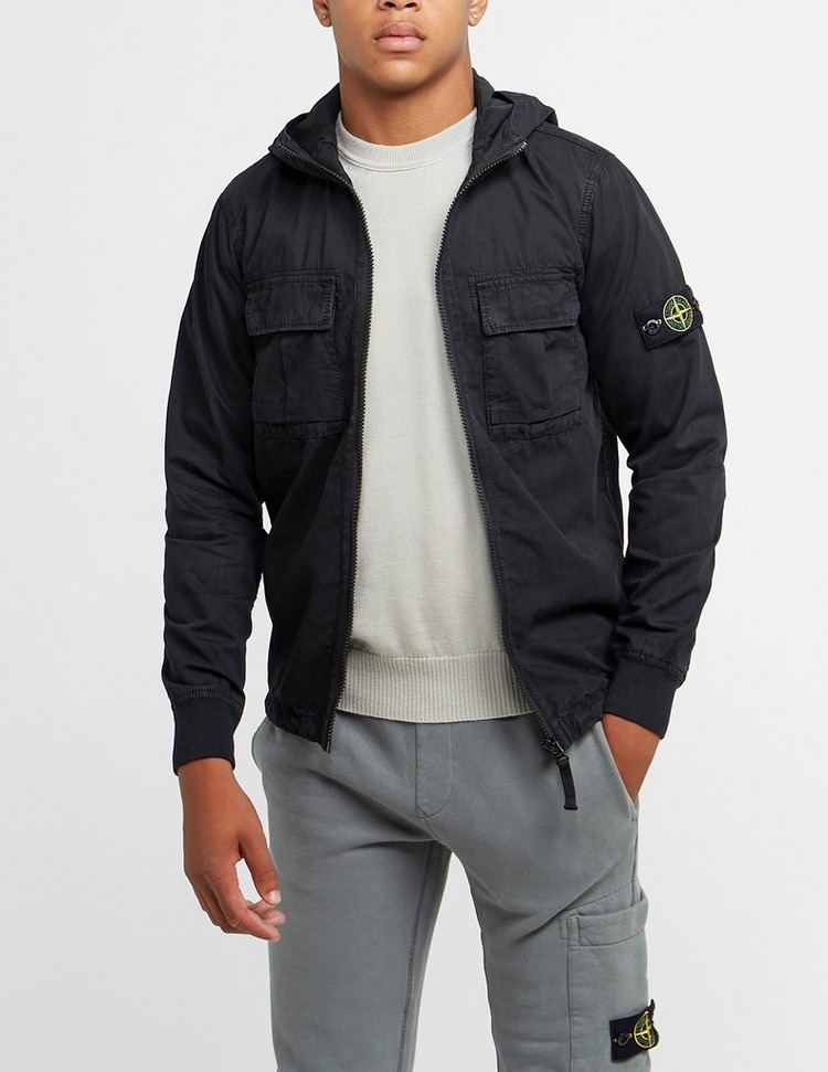 Stone Island Junior Hooded Overshirt