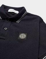 Stone Island Junior Tipped Short Sleeve Polo Shirt
