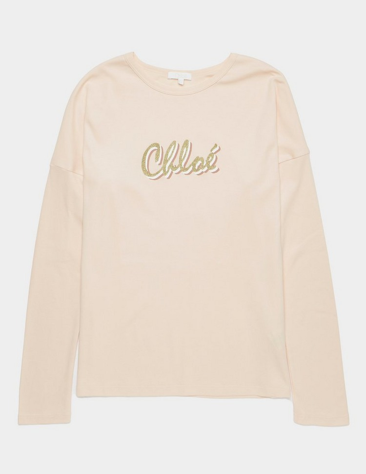 Chloe Signature Long Sleeve T-Shirt